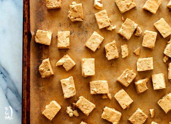 طرز تهیه پنیر توفو سوخاری