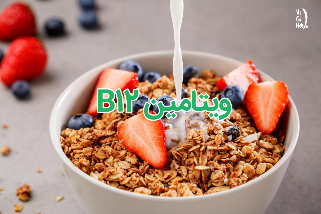 منابع غذایی ویتامین ب12 برای گیاهخواران