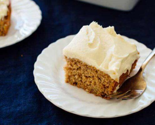 دستور پخت کیک موز خامه ای+ کیک موز وگان