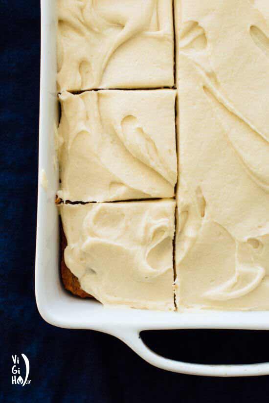 دستور پخت کیک موز خامه ای