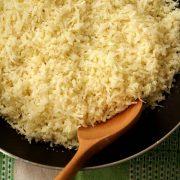 طرز تهیه برنج گل کلم