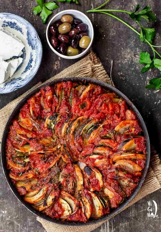 طرز پخت راتاتویی؛ خوراک فرانسوی
