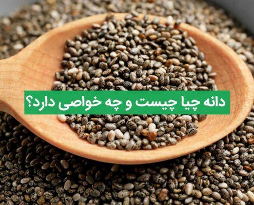 دانه چیا چیست و چه خواصی دارد؟