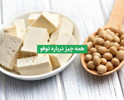 توفو چیست؟ همه چیز درباره پنیر گیاهی توفو