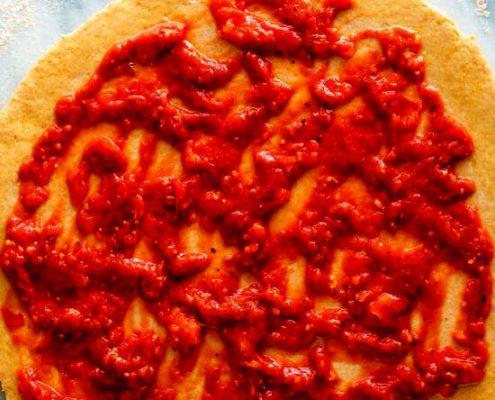 طرز تهیه سس پیتزای آسان