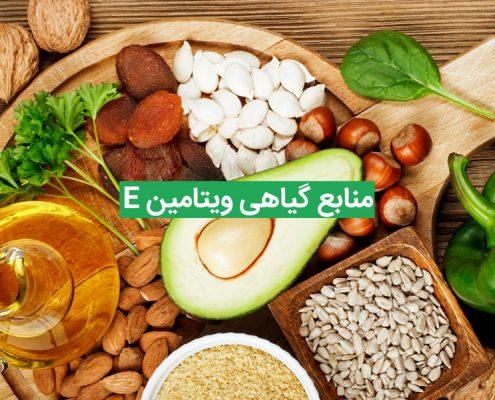 منابع گیاهی سرشار از ویتامین E و فواید آن