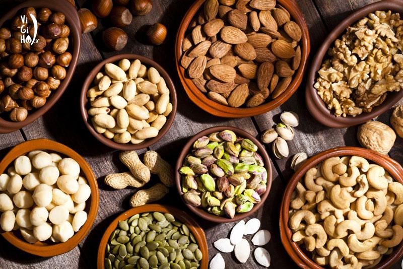 منابع گیاهی ویتامین E