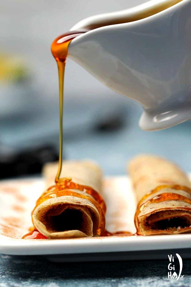 دستور تهیه کرپ فرانسوی صبحانه وگان