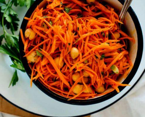 طرز تهیه سالاد هویج فرانسوی