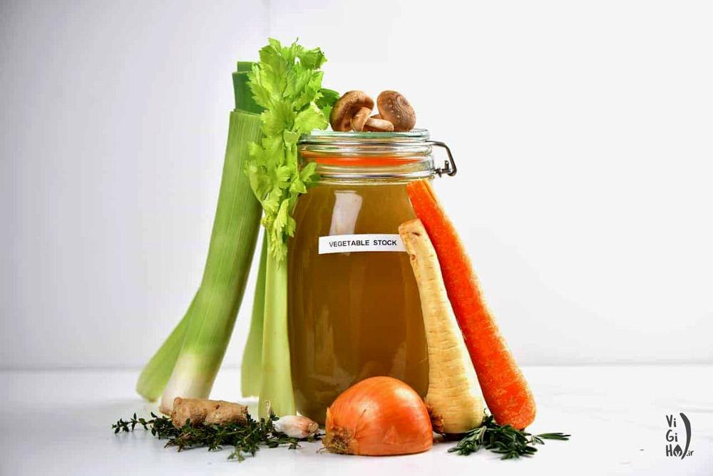 طرز تهیه عصاره سبزیجات