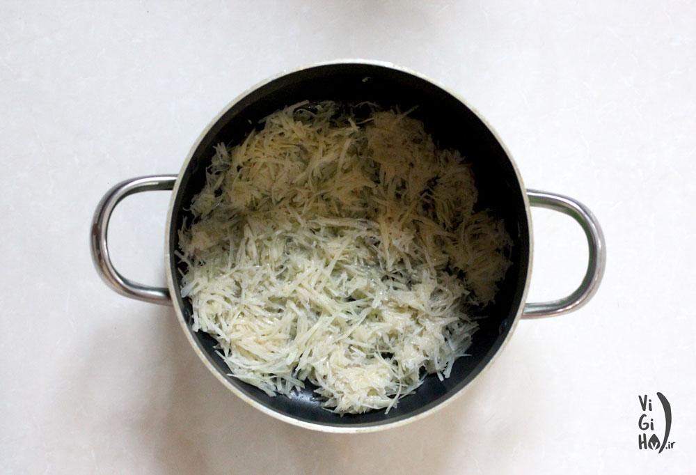 طرز تهیه لوبیا پلو مجلسی با سویا