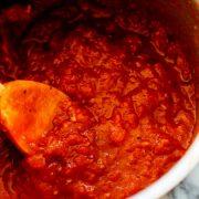 سس مارینارا؛ طرز تهیه سس گوجه ایتالیایی