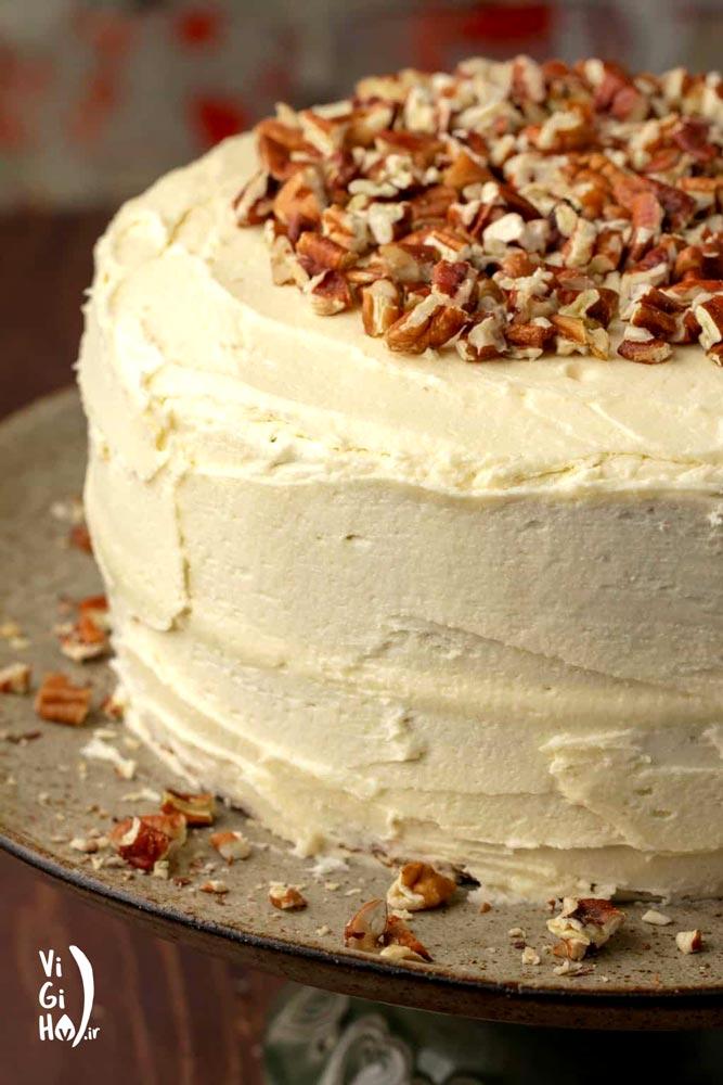 طرز تهیه کیک هویج وگان