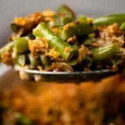 طرز تهیه خوراک قارچ و لوبیا سبز مجلسی