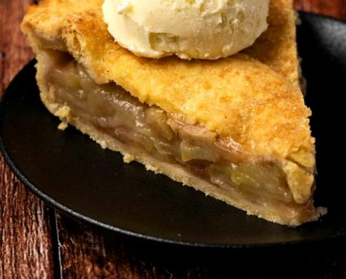 طرز تهیه پای سیب وگان خوشمزه