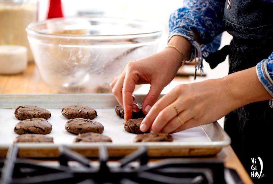 دستور پخت کوکی ارده خوشمزه