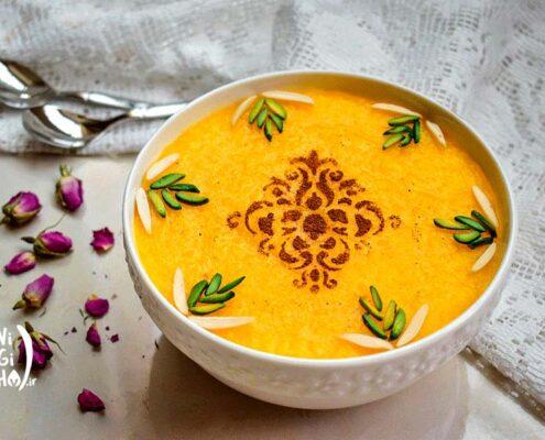 طرز تهیه شله زرد خوشمزه و خانگی
