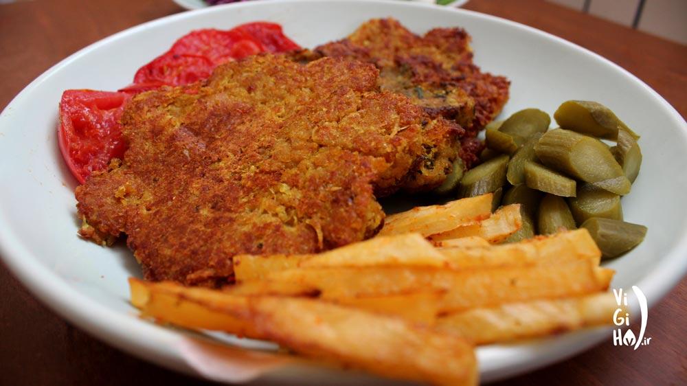 دستور تهیه کتلت گیاهی خوشمزه و بدون گوشت