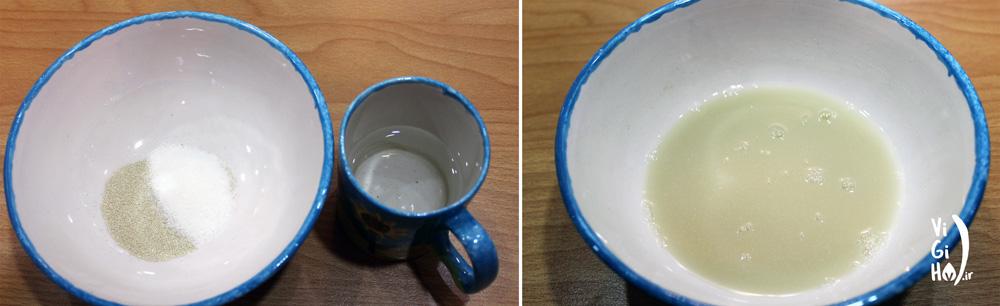 طرز تهیه شیرینی زولبیا وگان خانگی