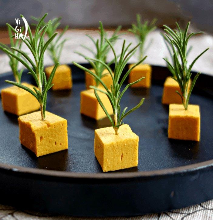 طرز تهیه پنیر چدار نخود خوشمزه و مقوی